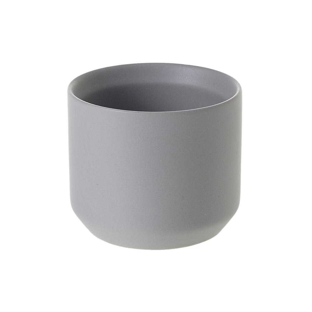 "Kendall Pot 3.25""x 2.75"" Grey"