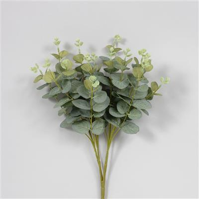 "Eucalyptus Bush 19"" Whi/Green"