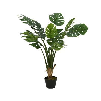 "Leaf Plant in Pot 44"" Green"